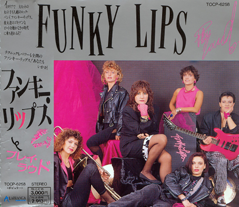 Funky Lips - Play Loud Japan