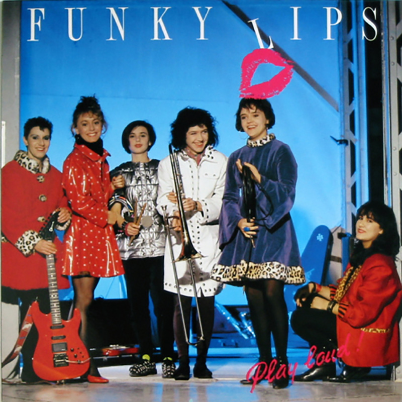 Funky Lips - Play Loud LP
